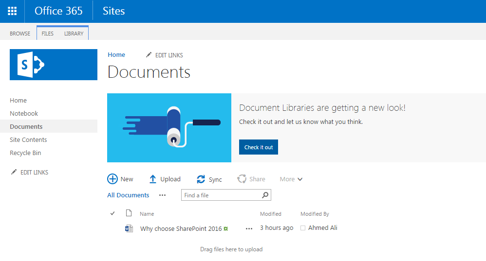 Centillion-SharePoint-Online-Document-Library-Office-365-View